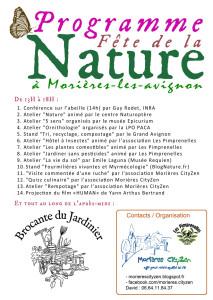 affiche fete de la nature