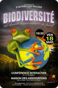 Affiche althen biodiversité
